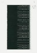 Philip Loersch – Über Bleistifte (51 schwarz), 2013