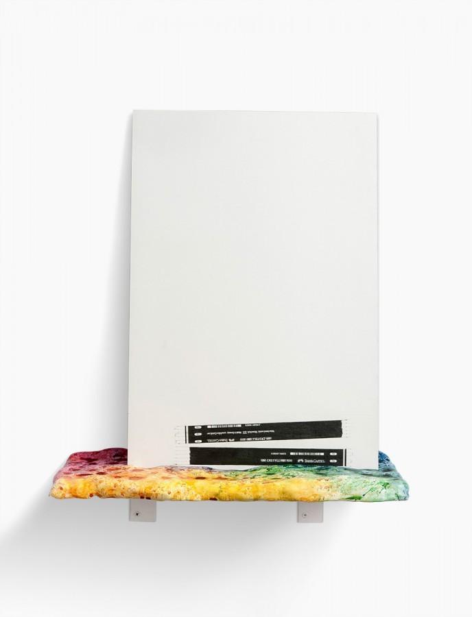Über Bleistifte (sehr bunt), 2014