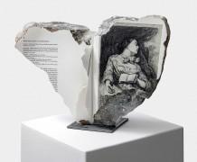 Philip Loersch – Schnecke auf Esperanto, schlafend (hauptsächlich nach Courbet), 2019
